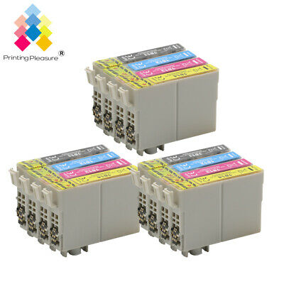 12 Ink Cartridge XL For Epson Expression Home XP-225 XP-322 XP-325 XP-422 • 8.82£