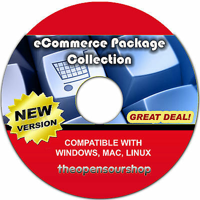 ECommerce CRM & Website Shop Software Collection – Create & Manages Websites • 14.95£