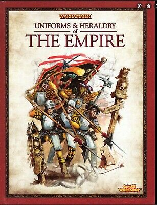 Uniforms And Heraldry Of The Empire By Games Workshop (Hardback, 2009) • 99.99£