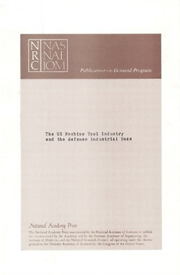 Bmed-U.S. Machine Tool Industry And The  BOOK NEW • 38.46£