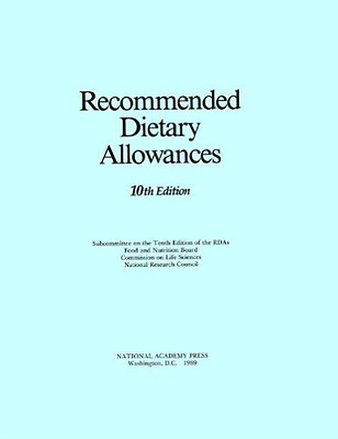 Cls-Recommended Dietary Allowances:  BOOK NEW • 54.91£