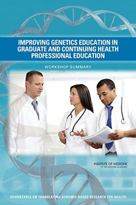 Improving Genetics Education In Gra  BOOK NEW • 36.50£