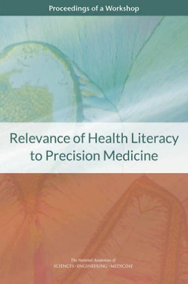 Relevance Of Health Literacy To Pre  BOOK NEW • 42.38£