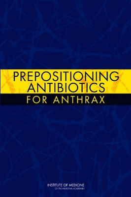 Prepositioning Antibiotics For Anth  BOOK NEW • 55.22£