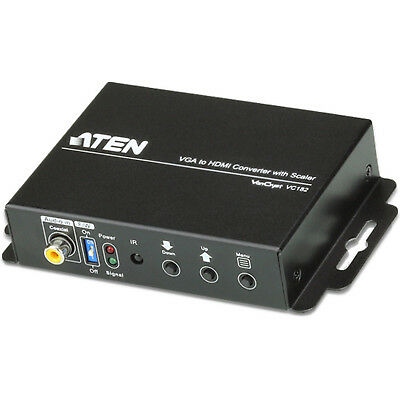 HDMI To VGA Converter ATEN VC182 With Scaler FullHD • 197£