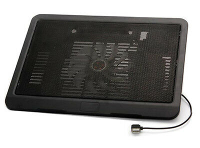 Hp Laptop Cooler Cooling Pad Notebook Stand Tray 9-14 Inch With Super Usb Fan • 13.95£