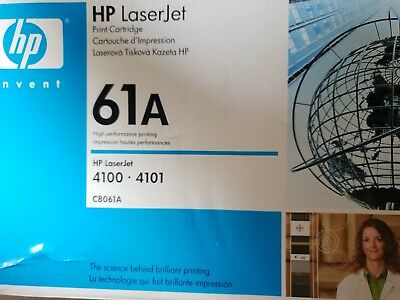 Hp Laserjet Print Cartridge - 61a Black  - New -  • 27.99£