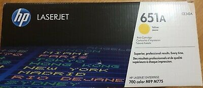 HP Laserjet 651A  Cartridge  YELLOW -  BRAND NEW • 289.99£