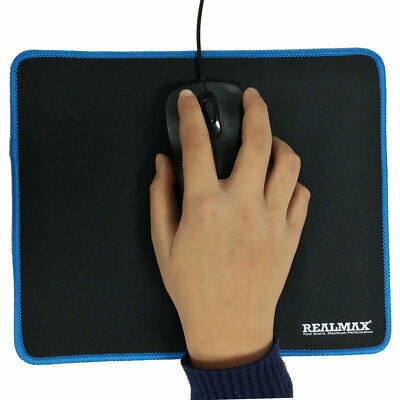 Non-Slip Rubber Base Mouse Pad Desk Mat 3mm Thick 27cm X 22cm For Gaming Compute • 3.99£