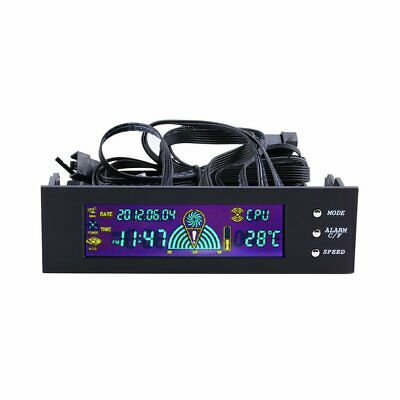 5.25 Inch PC Fan Speed Controller Temperature Display LCD Front Panel SG • 11.55£