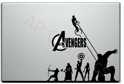 Avengers 15/13  Macbook Sticker • 9£