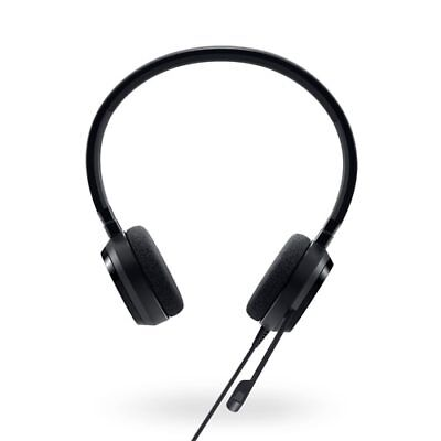 Genuine Dell Pro Stereo Headset UC150 Skype® For Business Certified 520-AAMD • 24.99£