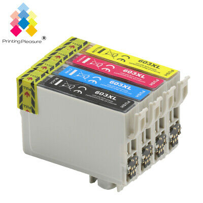 4x Ink Cartridge Fits For Epson Expression Home XP-4100 XP-2105 XP-4105 603XL • 9.48£