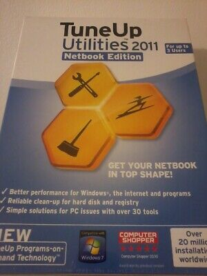 TUNEUP UTILITIES For PC, Notebook & Netbook, Up To 3 Users - Download POST FREE • 2.49£