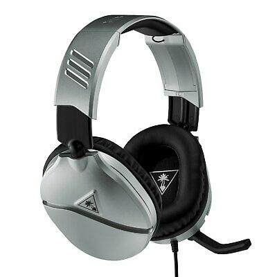 Turtle Beach Recon 70 Switch Xbox, PS4, PC Headset - Silver • 29.99£