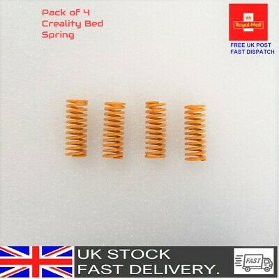 4 Pcs Creality Ender 3 Pro CR-X CR-10 S Ultimate Upgraded Flat Bed Springs UK  • 4.49£