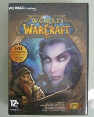Collectable Vintage  Pc Mac Dvd-rom. World Of Warcraft.excellent Condition. • 5£