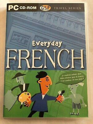 Everyday French PC CD-ROM.FREE POST • 3.90£