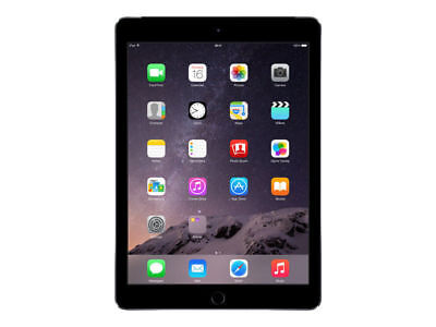 Apple IPad Air 2 64GB  Wi-Fi+4G Cellular 9.7in  Space Grey Retina Disp A+ Grade  • 269.99£