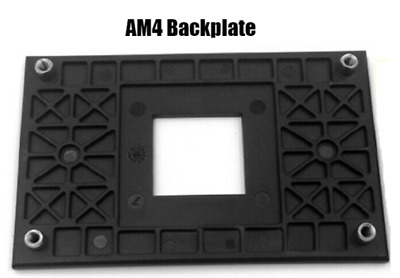 New AMD CPU Heatsink Bracket Backplate Back Sheet Plate Durable For AM4 • 4.95£