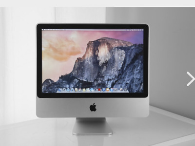 Apple IMac 20  All-in-one Desktop Core2Duo 2.66GHz 4GB 320GB A1224 Free Office • 199£