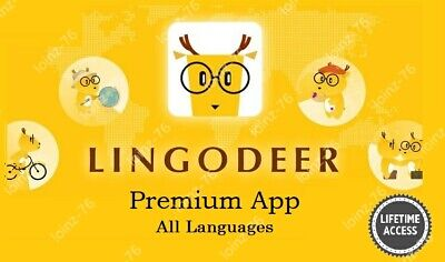 LingoDeer Premium | Android App | All Languages | Full Version | Lifetime Access • 2.99£