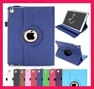 Case Cover For I Pad 2/3/4 Mini Air 1/2 Leather 360 Degree Rotating Smart Stand  • 3.99£