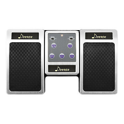 Donner Wireless Page Turner Pedal Rechargeable Sheet Music Reading Controller • 31.79£