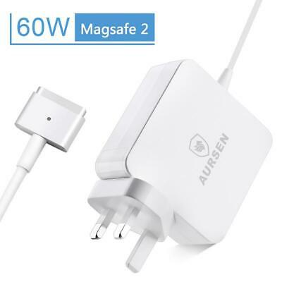 60W Power Adapter Charger For Apple Macbook Pro Mag Safe 2 13  A1435 A1465 A1466 • 16.99£