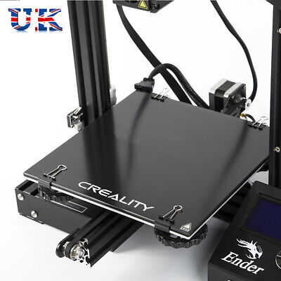 Creality 3D Ender-3 235x235mm Ultrabase Thick 4mm Glass Plate Build Surface I3E8 • 12.34£