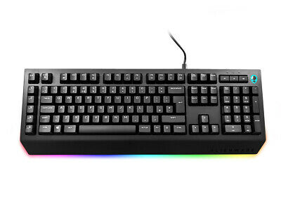 Genuine DELL Alienware Gaming Mechanical Keyboard AW568 UK Layout 580-AGKT • 39.99£