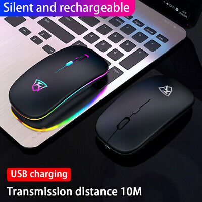 Wireless Optical Mouse 2.4 GHz For Windows HP PC Laptop Notebook Brilliant • 7.90£