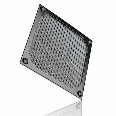 Shield PC Grill Computer Fan Cooling Aluminum Case Dust Filter Dustproof • 5.80£