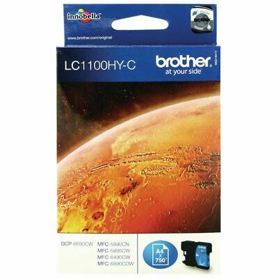 Brother LC1100 Cyan Ink LC1100HYC - BA65984 • 19.68£