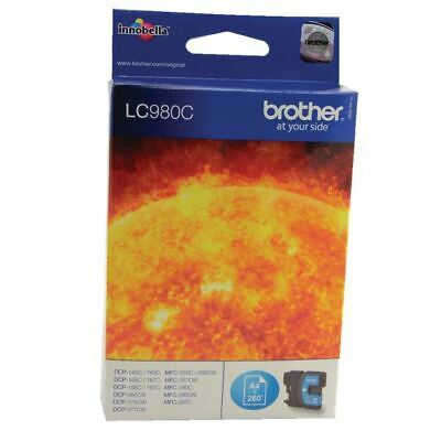 Brother LC980C Cyan Ink Cart LC-980C - BA65959 • 14.34£