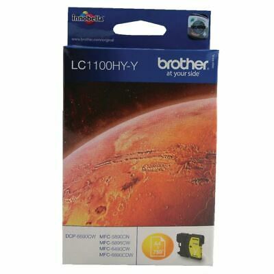 Brother LC1100 Yellow Ink LC1100HYY - BA65990 • 19.60£