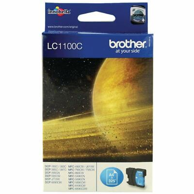 Brother LC1100C Cyan Ink Cart LC-1100C - BA65971 • 13.56£