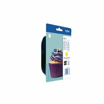 Brother Yellow LC123Y Ink Cartridge - BA71392 • 20.69£