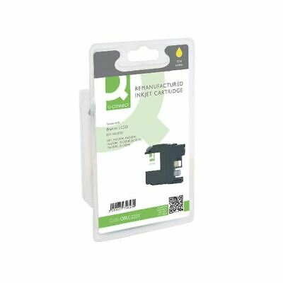 Q-Connect Brother LC223 Yellow Ink - OBLC223Y • 13.99£