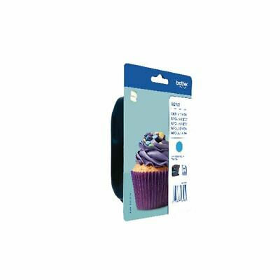 Brother LC123C Cyan Ink Cart LC-123C - BA71390 • 20.78£