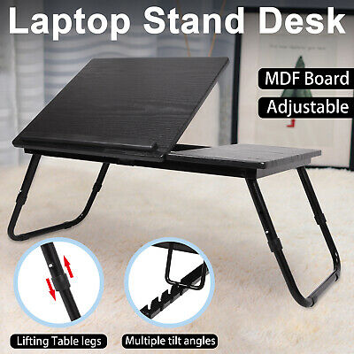 Adjustable Laptop Bed Table Stand Computer Desk Sofa Lap Tray Foldable Portable • 17.99£