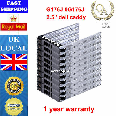 2.5  Caddy Tray For Dell R900 R730XD R720 R520 R320 T430 KG7NR 8FKXC G176J T630 • 4.59£