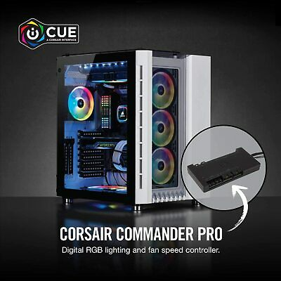 Corsair Commander PRO Digital Fan And RGB Lighting Controller - Black • 79.99£