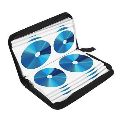 120 Sleeve CD-DVD Blue Ray Disc Carry Case Holder Wallet Storage Ring Organizer • 7.29£