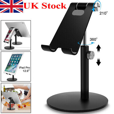 Universal Adjust Tablet Stand Holder Desk For IPad Mobile Phone Samsung IPhone • 12.99£