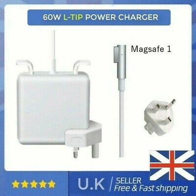 UK 60W L-Tip Mag Safe 1 Power Charger For Apple Macbook Air And Pro 2006-2011 • 19.45£