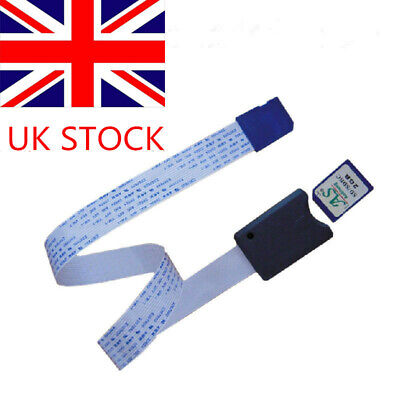 SD Card Adapter Extension Extender Cable SDHC Compatible GPS TV SDXC 62CM UK • 3.99£