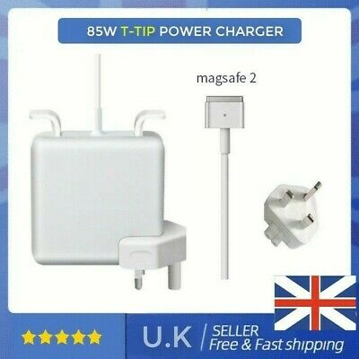 UK 85W T-tip Mag Safe2 Power Charger For Apple Mac Book Pro 15  17  2012-Current • 20.35£