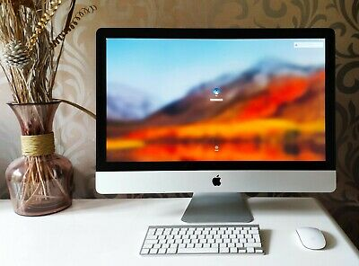 Apple IMac All-in-one 27  Powerful I7 Quad Core 3.4 - 3.8 Ghz 3TB HDD 16 GB Deal • 799£