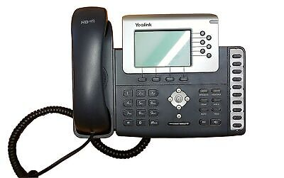 Yealink T28P ( Storm IPath 120 ) IP Phone / 6 Lines Wired Voip Handset Black ... • 19.99£